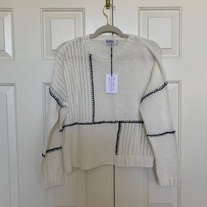 NWT White sweater 27 Miles